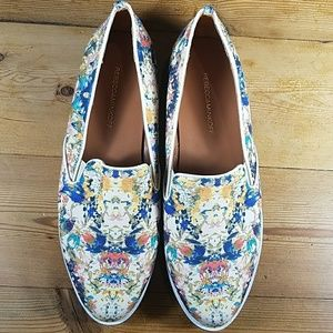 Rebecca Minkoff Floral Canvass Sneakers size 8.5